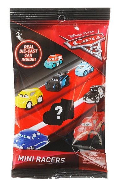 Masinuta metalica surpriza Mini Racers Disney Cars 3